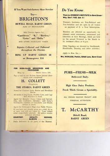 1931: Nov Programme 7