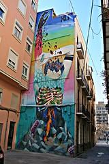 Valencia Arte Urbano Graffiti 53 (Kiko Colomer) Tags: francisco jose colomer pache kiko valencia valence arte urbano grafitti centro ciudad europa europe calle pintura pintada