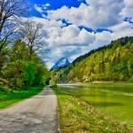 River inn with Pendling mountain, Tyrol, Austria thumbnail