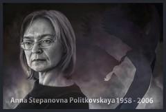 Light In Shadows - Anna Stepanovna Politkovskaya (1958 - 2006)