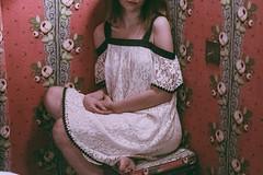 The Eye of Paris ( Interiors ) . (Violette Nell) Tags: jobohotel hôteldejobo jobo parisianinterior parisianlife paris lemarais france travel style décoration filmphotography 35mmcolorfilm places 35mm analog 35mmfilm portrait model fashion girl vintage youth mood violettenell feelings