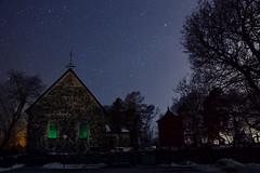 Starpointer (Kojaniemi) Tags: star starry kimmoojaniemi kojaniemi night nightphotography starrysky church gothic darkness dark gloom gloomy