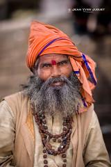 Sadhu in Varanasi (India) - Sâdhu à Bénarès (Inde) ( Jean-Yves JUGUET ) Tags: sadhu sâdhu inde india varanasi benares gange ascète ascetic