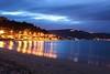 Riflessi (domenicofanta) Tags: calabria night light sea soverato italia canon