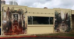 Urban Decay by Borondo (wiredforlego) Tags: graffiti mural streetart urbanart aerosolart publicart powwowhawaii powwow oahu honolulu hawaii borondo