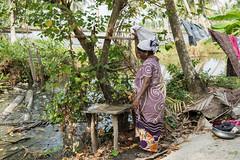La vita nel villaggio... (Renato Pizzutti) Tags: india kochi kerala donna lavareipanni villaggio nikond750 renatopizzutti