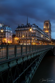 Pont d'Arcole & Cathédrale Notre-Dame, Paris