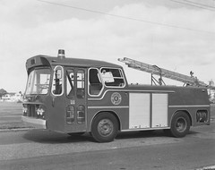 Toowoomba fire engine car No 4 - Toowoomba, June 1973 (Queensland State Archives) Tags: fire engine truck queensland emergency services archives history qld queenslandstatearchives toowoomba 1970s 1973 nonstory