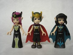41194 - Elves badguys (fdsm0376) Tags: review set lego elves 41194 noctura tower earth fox rescue farran leafshade hippo molo bat
