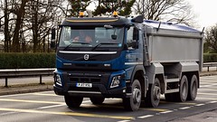 PJ17 VSL (Martin's Online Photography) Tags: volvo fmx tipper truck wagon lorry vehicle freight haulage commercial transport a580 leigh lancashire nikon nikond7200