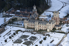 Somerleyton Hall in the snow - aerial (John D Fielding) Tags: somerleytonhall somerleyton mansion suffolk snow winter above aerial nikon d810 hires highresolution hirez highdefinition hidef britainfromtheair britainfromabove skyview aerialimage aerialphotography aerialimagesuk aerialview drone viewfromplane aerialengland britain johnfieldingaerialimages fullformat