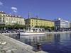 Rijeka, Croatia Waterfront (Tony Tomlin) Tags: split croatia balkans harbor boats ships europe bollard yacht dalmatia adriatic