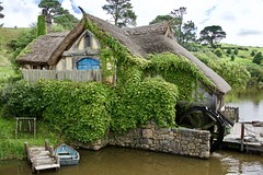 The Mill at East Farthing near Hobbiton (cliveleach) Tags: watermill lordoftherings hobbiton