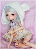 Magical ♥ (Pliash) Tags: doll cute kawaii baby girl leekeworld artbody art body bjd blond blonde pastel colors hat toy animal pessoas na foto blushing custom