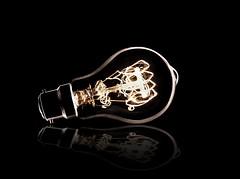Not very illuminating (Vab2009) Tags: bulb light illumination filament wire