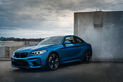 Long Beach Blue M2 (lucasjohnsonphotography) Tags: bmw bmwusa bmwm bmwm2 m2 sportscar car coupe automotive moody