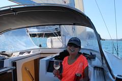 IMG_8936 (drayy) Tags: sail sailing boat yacht hanse hanse415 hawkesbury pittwater brokenbay water sydney nsw australia swim swimming