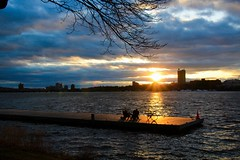 Golden magic (ole_G) Tags: boston esplanade charlesriver