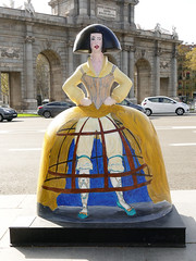 """Menina Secreta"", por Lorenzo Caprile (Madrid) (Juan Alcor) Tags: lorenzocaprile fueradeserie meninasecreta plazadelaindependencia meninasmadridgallery menina meninas madrid españa spain"