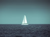 Straight (Andreas Balg) Tags: sea ocean water ship blue alone minimal still artistic silence sail sailing