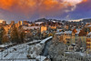 Snowy twilight time on La Chaux-de-Fonds. Canton of Neuchâtel. Switzerland.izakigur 14.11.17, 17:55:47. No. 0959. (Izakigur) Tags: switzerland jura lachauxdefonds tchaux twilighttime coucherdesoleil svizzera lasuisse lepetitprince thelittleprince ilpiccoloprincipe helvetia liberty izakigur flickr feel europe europa dieschweiz ch musictomyeyes nikkor nikon suiza suisse suisia schweiz suizo swiss سويسرا laventuresuisse myswitzerland schwyz suïssa luz lumière light licht ضوء אור प्रकाश ライト lux światło свет ışık jamesboon
