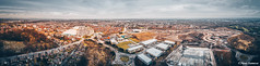 Prescot Town (Steve Samosa Photography) Tags: prescot aerial aerialview dronecamera drone droneshot droneview knowsley panoramic