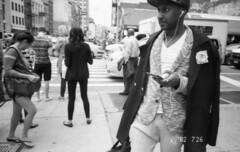 (David Chee) Tags: ricoh gr1v gr1 kodak trix 400 hc110 newyork nyc manhattan canal broadway street film analog blackandwhite bw