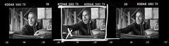 L'acteur (thierry-manach.com) Tags: acteur actor cinema film noir et blanc black white monochrome portrait fureur emotion