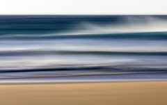 Mangersta Beach ICM, Isle of Lewis, Outer Hebrides, Scotland (MelvinNicholsonPhotography) Tags: mangerstabeach intentionalcameramovement isleoflewis lewis outerhebrides hebrides scotland seascape abstract waves ocean water sand beach sky