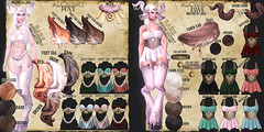 Alchemy - Foxy & Fawn @ Lootbox (Dani @ Birdy/Foxes/Alchemy) Tags: s sl secondlife fox foxes birdy alchemy fantasy maitreya lara key lootbox fawn