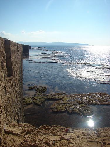 Вид на море с крепостной стены
