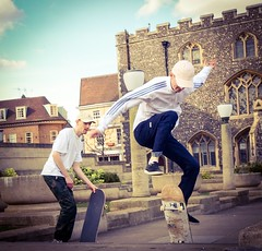 84/365 Practice (denise.ferley) Tags: norwich 365 peopleinthestreet peoplewatching skateboarder skateboarding thisisnorwich thisisengland oneaday citylife life streetphotography