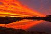 Awatea Lakes (bob_katt) Tags: awatea lakes paraparaumu northisland newzealand kapiti sunset sky silhouette reflections cloud colour canon eos500d weather water natural wonders landscape