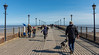 The Pier at Skegness. (pitkin9) Tags: pier skegness busy people dog families lamposts outtosea