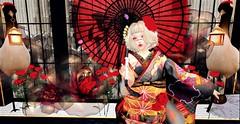 A K A ([ Ayako ]) Tags: tomoto re japonica second life japanese kimono