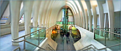 Gare des Guillemins, Liège, Belgium (claude lina) Tags: claudelina belgium belgique belgïe liège luik gare station garedesguillemins santiagocalatrava architecture