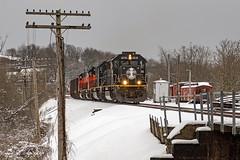 Illinois Central EMD SD70 1038 (Harry Gaydosz) Tags: trains railroads locomotives pa pennsylvania bessemerlakeerie ble canadiannational cn illinoiscentral ic ic1038