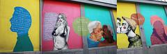 """Out in the street"" Fotini Tikkou, rue de la Chaufferette, Bruxelles, Belgium (claude lina) Tags: claudelina belgium belgique belgïe bruxelles brussel fresque arturbain streetart outinthestreet dessin fotinitikkou ruedelachaufferette peinture painting"