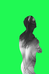 (Karsten Fatur) Tags: portrait silhouette cutout green perception reality edit photoshop digitalart conceptualart naked nude nudemodel model gay lgbt lgbtq queer queerart frame