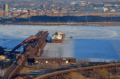 Commence Rail & Sail Season (Missabe Road) Tags: ic 6252 bnsf jamesrbarker dock6 firstoftheseason cn