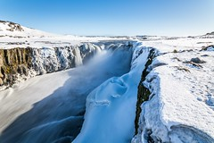 Selfoss Iceland (Einar Schioth) Tags: selfoss sky snow sunshine sun shore day winter water waterfall river rocks rock canon coast cliff canyon vividstriking blusky nationalgeographic ngc nature landscape photo picture outdoor jokulsargljufur jökulsá jokulsaafjollum jokulsarthjodgardur iceland ísland ice einarschioth