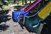Colourful Slides (Vegan Butterfly) Tags: outside outdoor city urban kinsmen park edmonton alberta notbacktoschool picnic event homeschooling playground slides colorful colourful colours colors