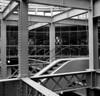 Riveted lines (Gabo Barreto) Tags: dublin ireland guinnessstorehouse beams rivets lines escalator film 120 mediumformat analoguephotography fomapan fomapan400 aristaeduultra kiev88cm commiecamera sovietcamera squares selfdeveloped hc110 scannedfromfilm