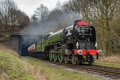 60163 Tornado (Mister Oy) Tags: tornado steam train loco locomotive railway summerseat tunnel exit leaving green a1 nikond850 davegreen oyphotos ©oyphotos elr eastlancsrailway