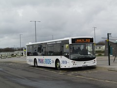 East Yorkshire 385 YX14HDZ 'Alan White' Bridlington Park & Ride on P&R (1280x960) (dearingbuspix) Tags: eyms eastyorkshire parkride 385 yx14hdz alanwhite