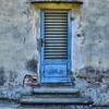 Tuscany Blue (CJS*64) Tags: cjs64 craigsunter cjs nikon nikkor nikond7000 d7000 tuscany florence italy travel traveling citybreak citylife door blue olddoor steps