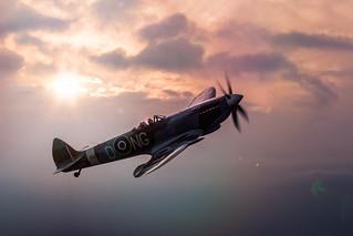 Climbing Spitfire