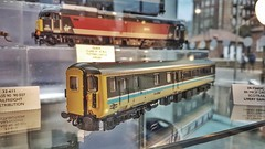 Forthcoming Model of a DBSO Push Pull Coach. (ManOfYorkshire) Tags: 607 scotrail dbso drivint trailer brake second open scale model railway coach carriage display preproduction livery sample stand yortk show 2018 exhibit onshow pushpull