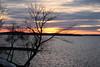 Sunset from James Madison Park (1/3) (danielhast) Tags: madison lake sunset water cloud sky mendota tree