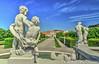 Belvedere (Ivan Berta) Tags: austria wien vienna belvedere history sky blue
